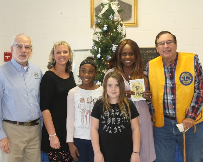 Garnett Middle School Donation
